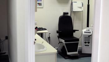 Consultation Room At David Dowley Opticians