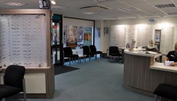 David Dowley Opticians York - Interior