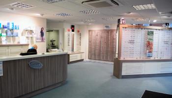 David Dowley Optician York - Interior