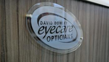 David Dowley Opticians York Sign