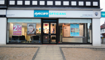 David Dowley Opticians York - Shop Front